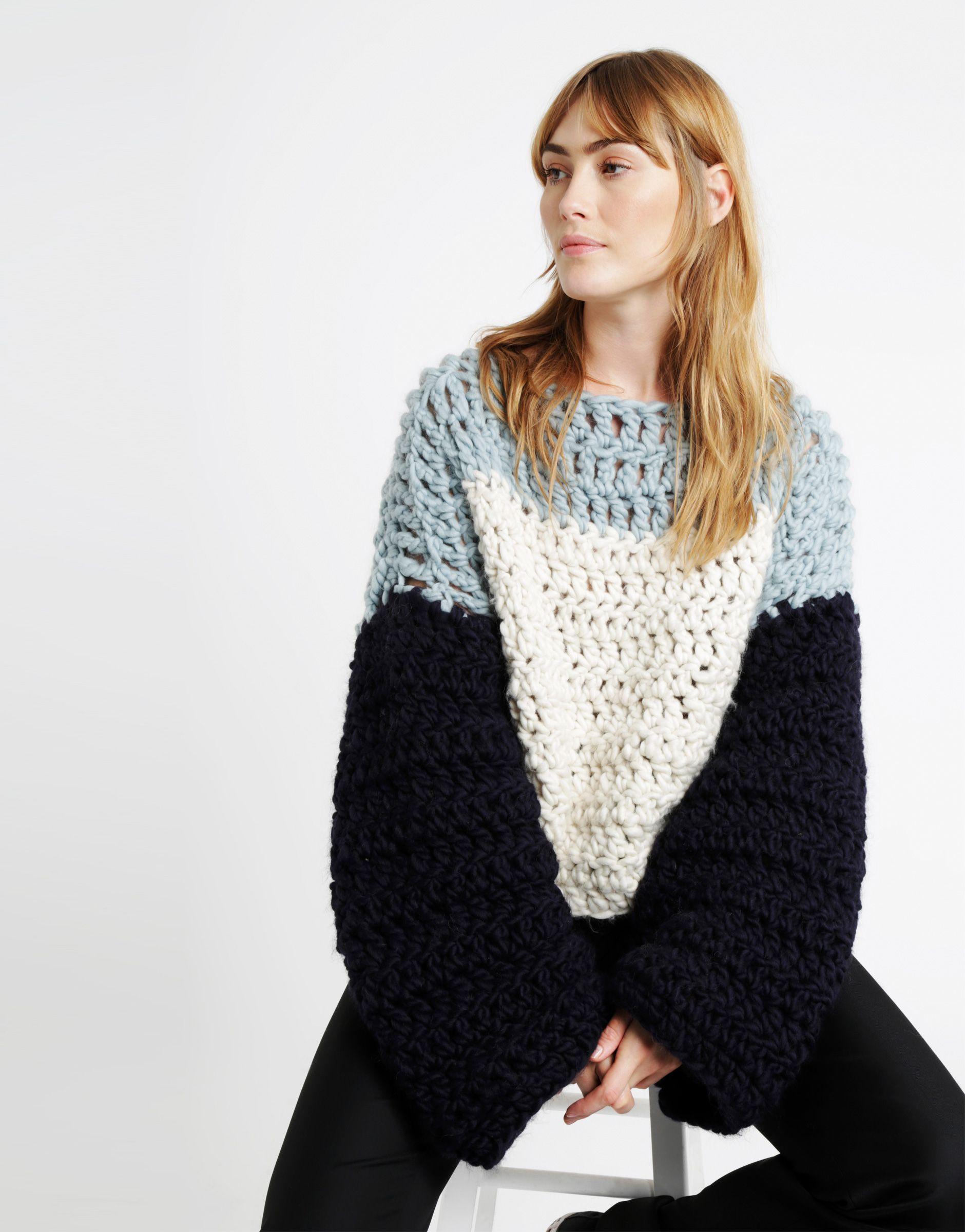 Handy Dandy Sweater | @woolandthegang | Crochetwear II | Tricotar ...