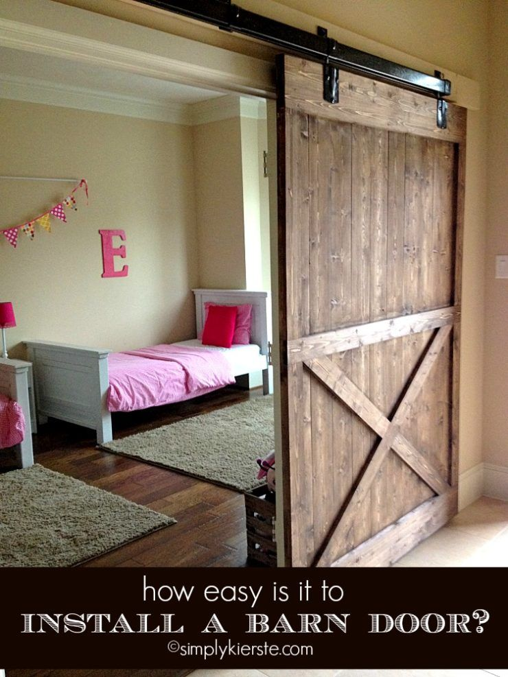 Installing a Sliding Barn Door...How Easy Is It? For the