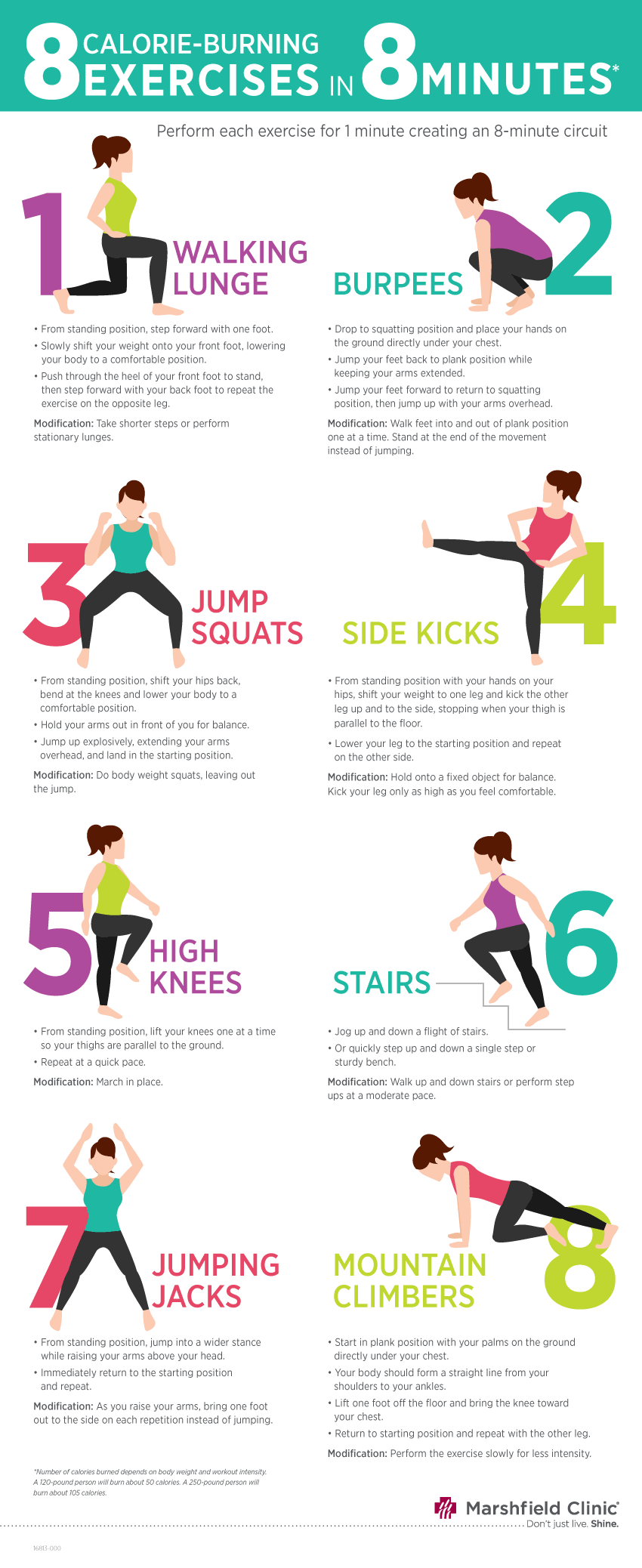 8 great aerobic exercises to try at home | Exercise ...