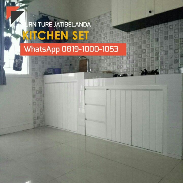 Kitchen Set Jatibelanda Furnitureindonesia Kayujatibelanda