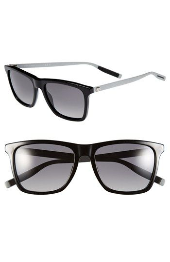 4d253d91dd3b Men's Christian Dior '177S' 55mm Polarized Sunglasses - Black ...
