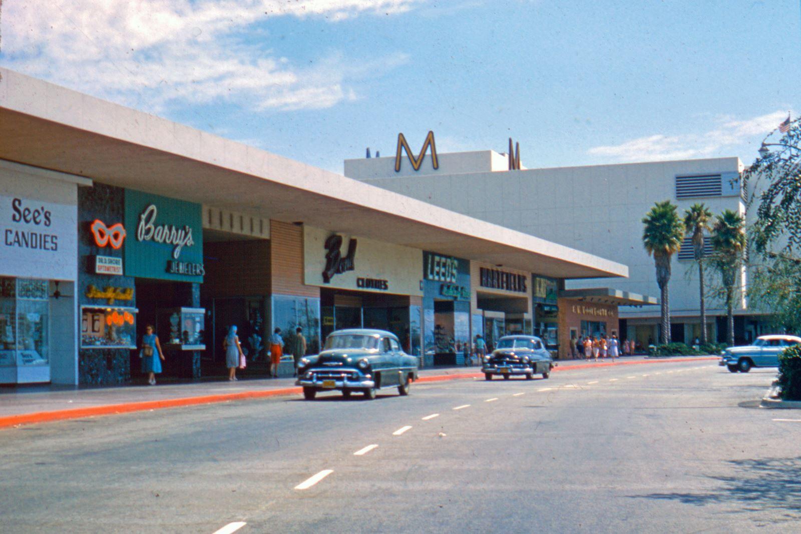 Lakewood Mall Lakewood California 1957 Lakewood California