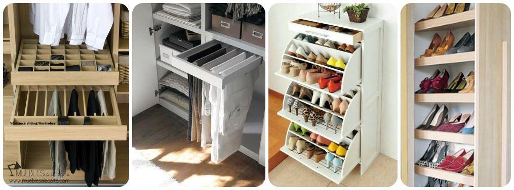 04 distribuir interior armario pantaloneros zapateros for Interior zapateros