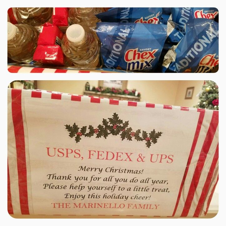 Christmas Gift For Delivery Men Usps Postman Ups Fedex And