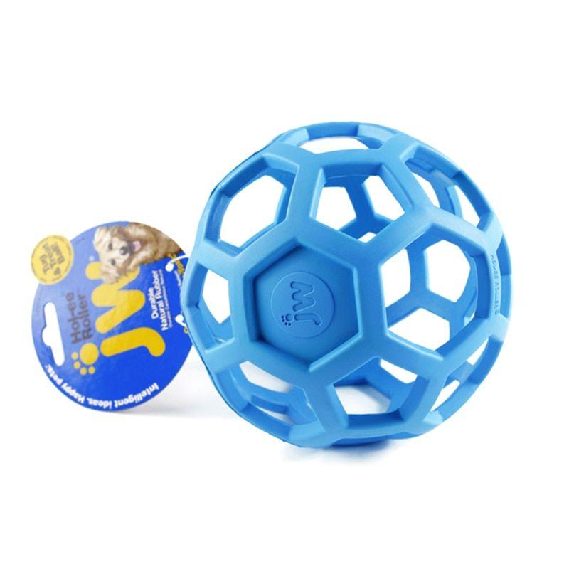 Jw Geometric Ball Pet Dog Toys Natural Non Toxic Rubber Ball Toy