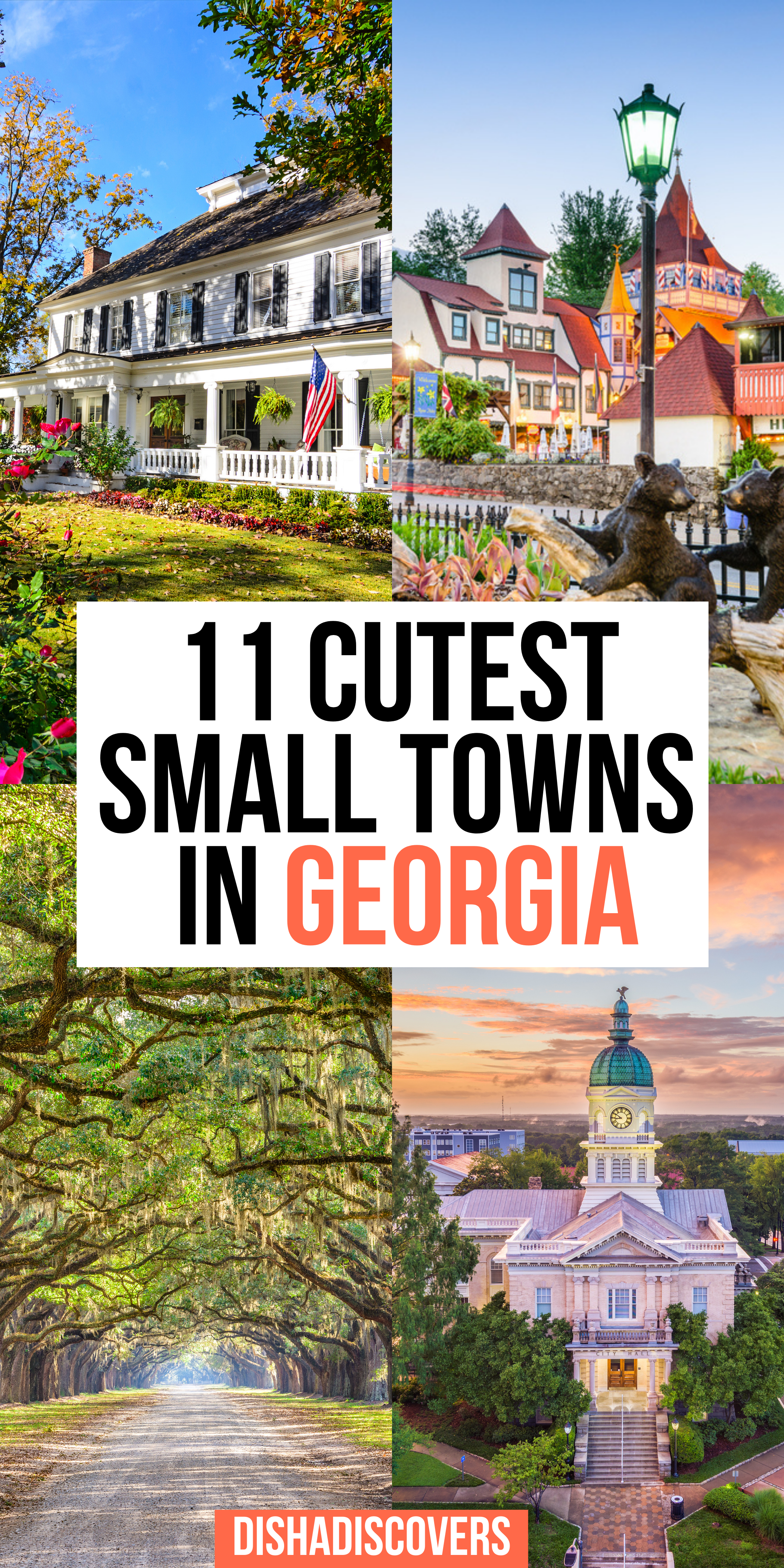 11 Prettiest Towns in Georgia for Your Next Getawa