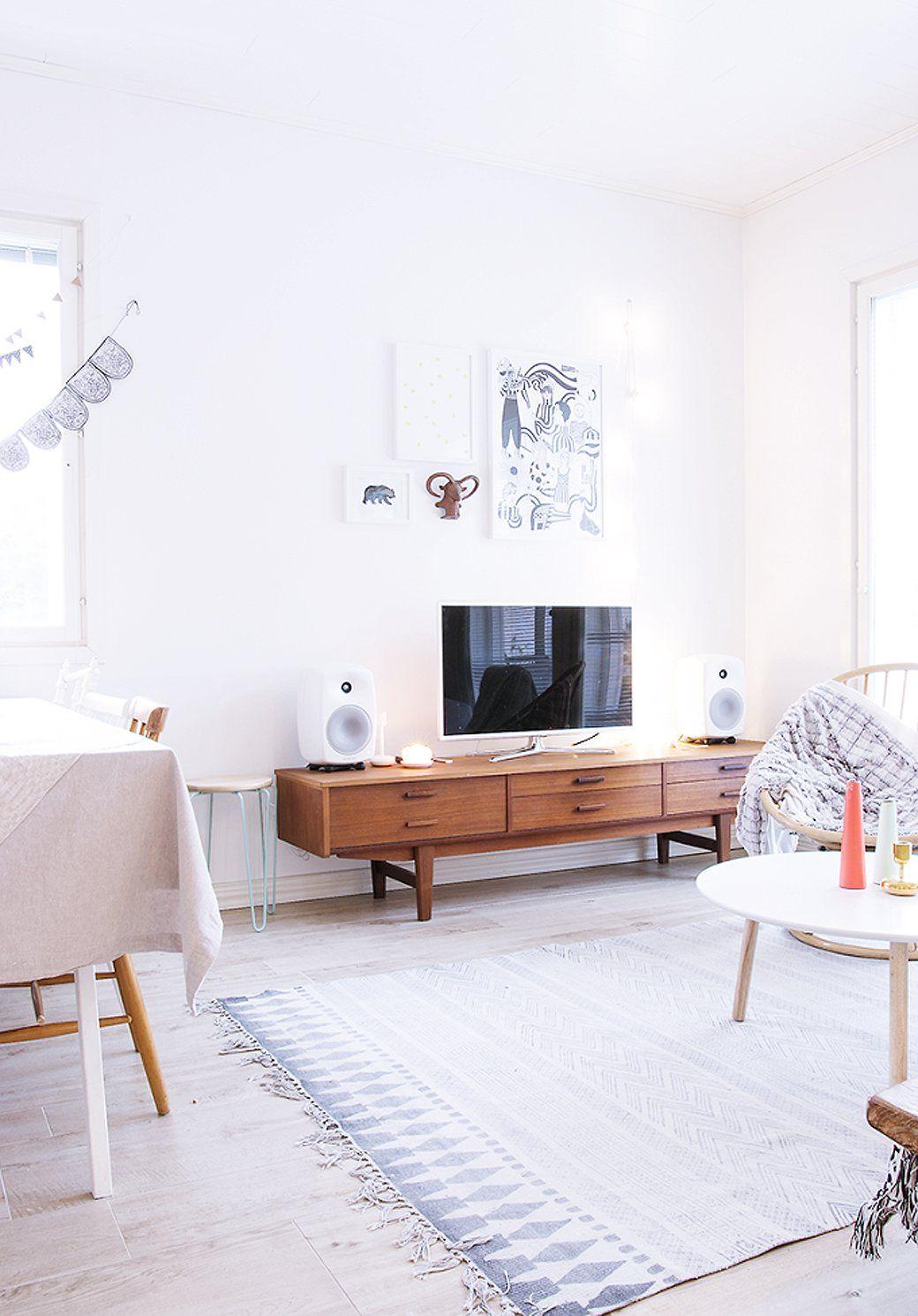 Naturally beautiful finnish home tour decor8