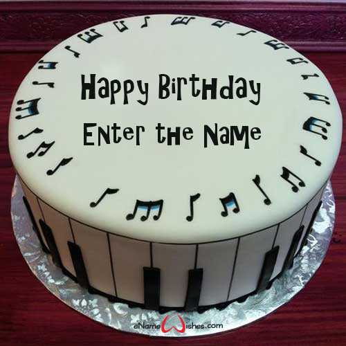 Awe Inspiring Best Musical Birthday Name Wish Cake Music Birthday Cakes Cake Funny Birthday Cards Online Aeocydamsfinfo