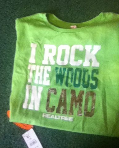 I rock the woods In camo