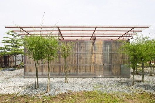 Low Cost House Vo Trong Nghia Architects Low Cost Housing Architect Bamboo Building