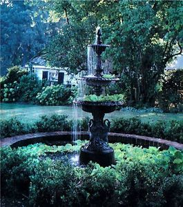 Classic French Victorian Garden Fountain
