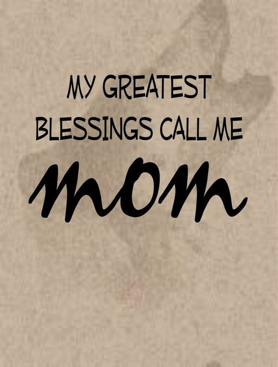 Thank You Lord For Allowing Me To Be A Mother Call My Mom Mom