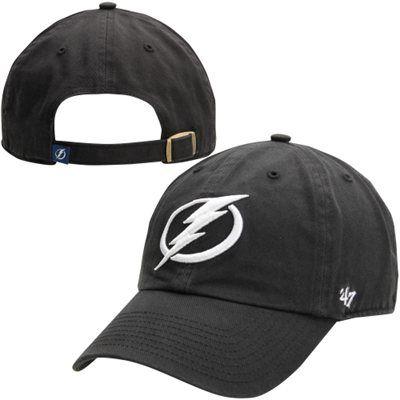 classic fit 806bb 79fda  47 Brand Tampa Bay Lightning Clean Up Adjustable Hat - Black.