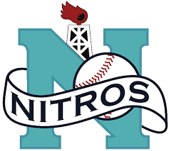 Wellsville Nitros New York New York Collegiate Baseball League Sending Players To The Pros Since 1978 Div West We Baseball League Sports Logo Baseball