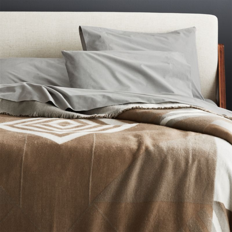 Geometric Reversible Full Queen Blanket Reviews Decorative Throws Blanket Reversible Blanket Queen Blanket