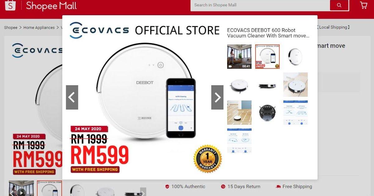 Ecovacs Robot Vacuums Robot Vacuum Credit Card Application Credit Card Apply