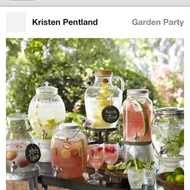 Love all these outdoor things for my wedding