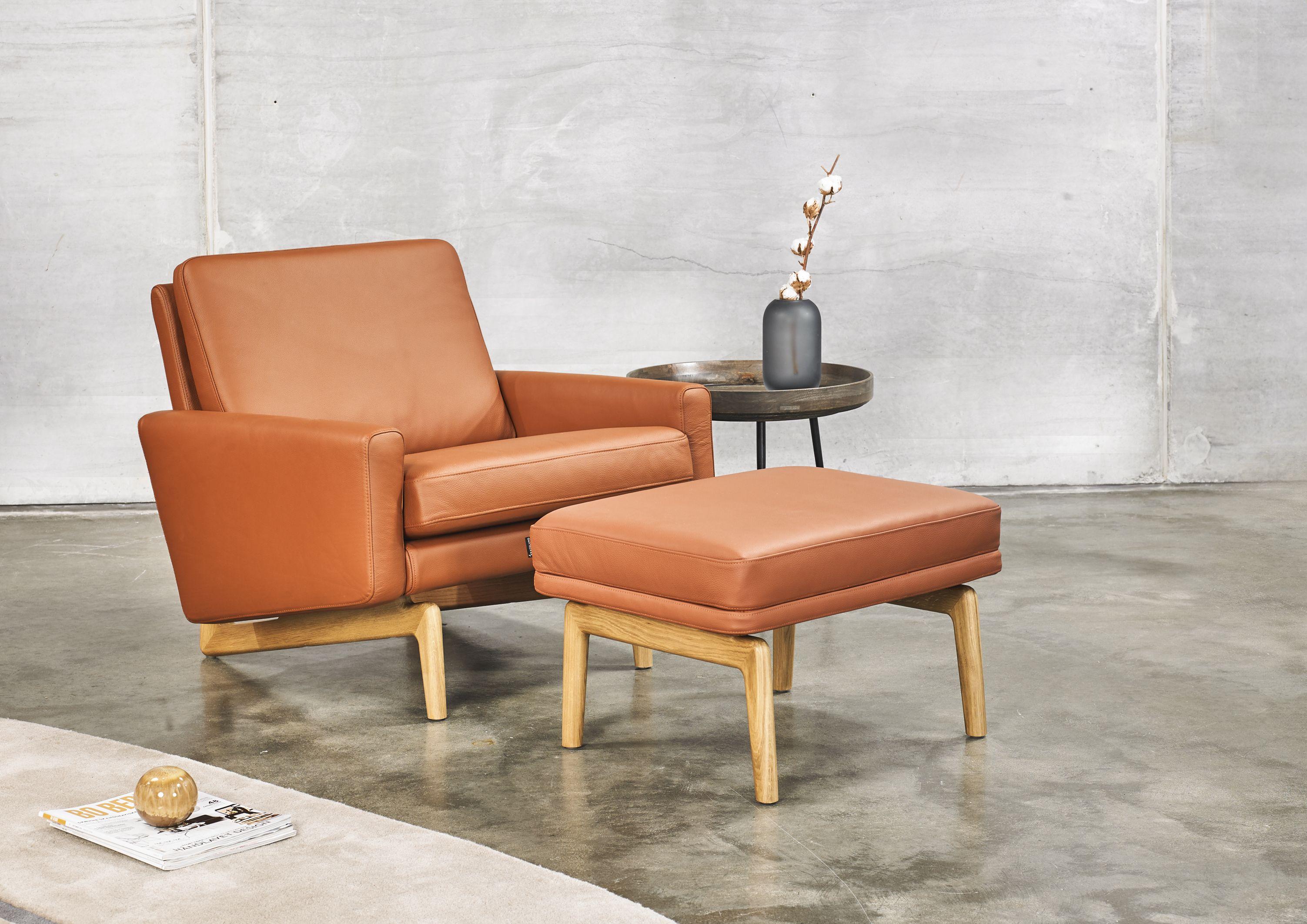 Kopenhagen Designer Sessel Mit Polsterarmlehnen Und Holzfüßen Kopenhagen Und Kopenhagen Oak Als 2 Sitzer Oder 3 Sitzer A Sessel Mit Hocker Sofa Design Sessel