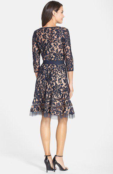 Tadashi Shoji Lace Overlay Dress   Nordstrom