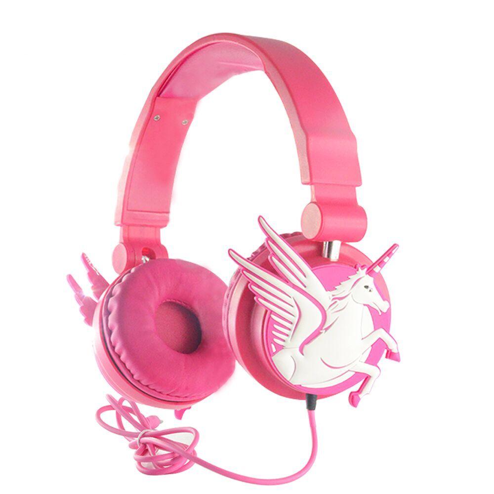 Unicorn Headphones Wired Earphones Unilovers Girl With Headphones Cute Headphones Headphone Price