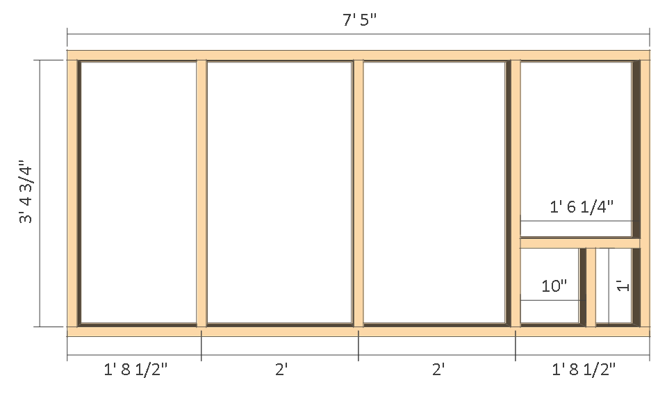 8x10 Chicken Coop Plans Gable Roof Free PDF Construct101