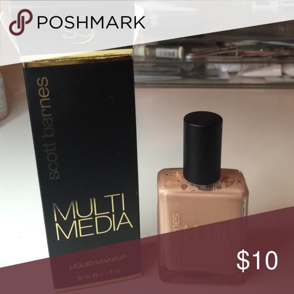 Scott Barnes Multi Media Foundation Cream makeup