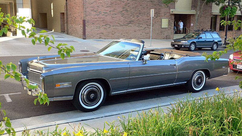 1970 Cadillac Eldorado 8 2 Litre Engine Over 18 Feet In Length They Just Don T Make Em Like That Anymore Maybe Boss Hogg Still Has One Sitting His