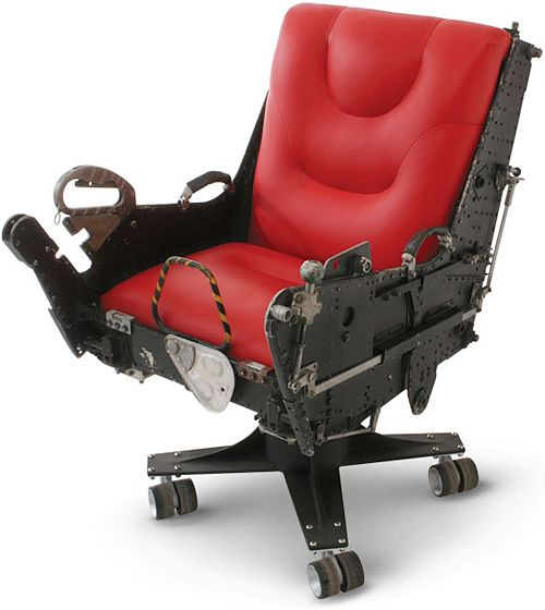 funky office chair. f4 phantom ejection seat office chair is the perfect way to dramatically exit a funky f
