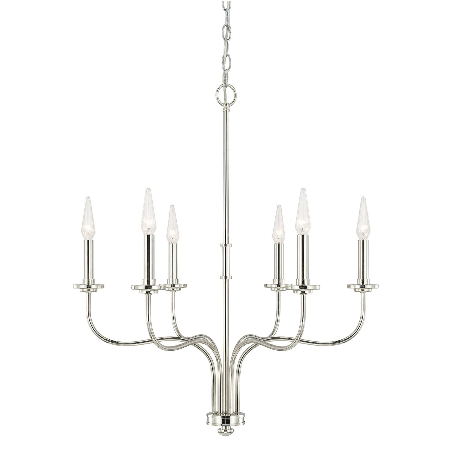 Red Barrel Studio Molly 6 Light Candle Style Chandelier