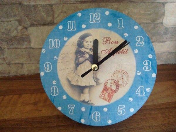 petite horloge poser bon app tit horloges et calendriers r tro pinterest horloges. Black Bedroom Furniture Sets. Home Design Ideas