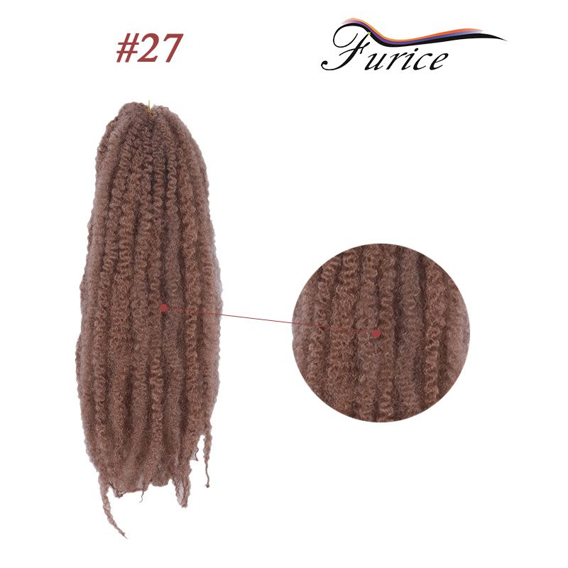 Afro Kinky Twist Braid Dread Lock African Ombre Synthetic Hair