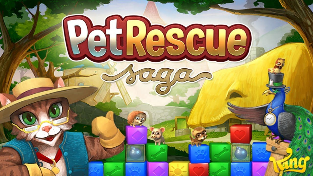 WOW! HACK PET RESCUE SAGA GOLD FOR FREE, UNLIMITED ! Pet