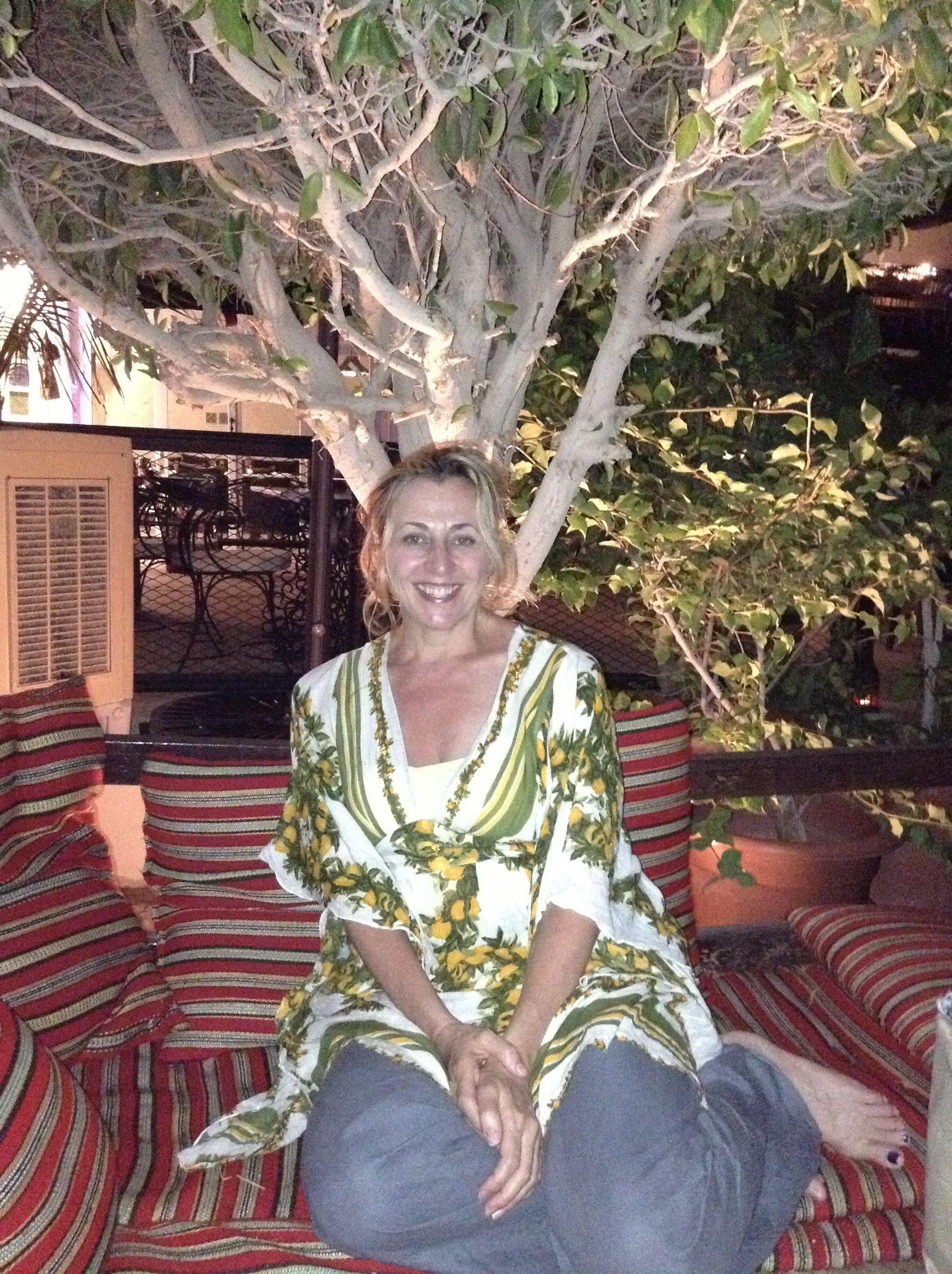 Me during post-Iftar tea at Kargeen Cafe | Oman | Iftar, Tea