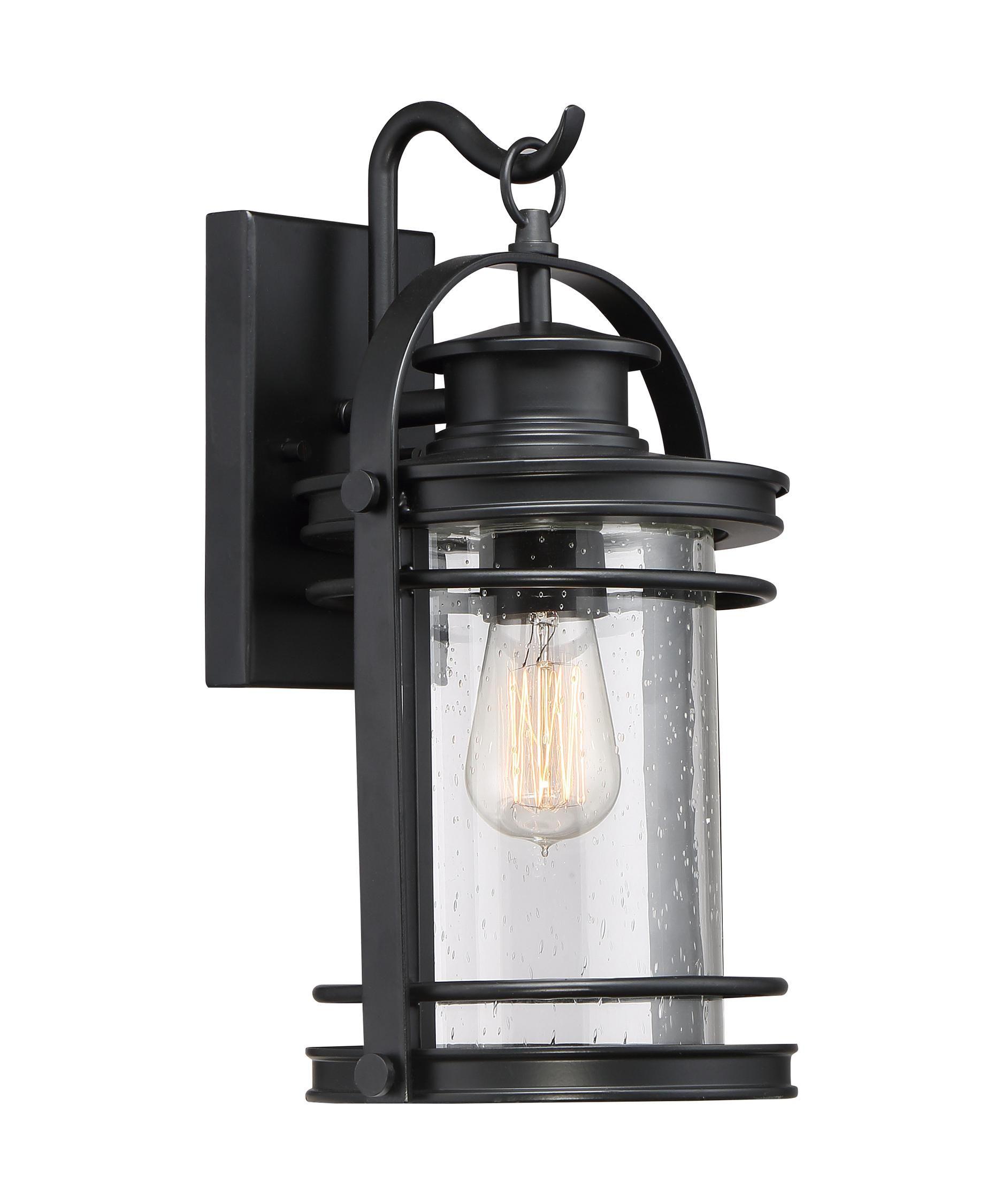 Quoizel Bkr8408 Booker 1 Light Outdoor Wall Light $199