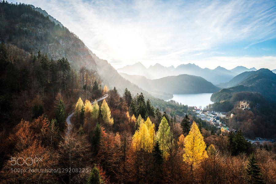 view from Neuschwanstein #PatrickBorgenMD