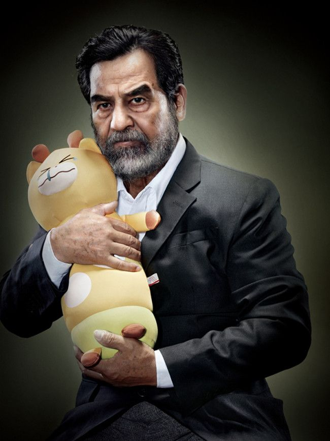 Yes, it's world dictators cuddling stuffed toys » Lost At E Minor: For creative people