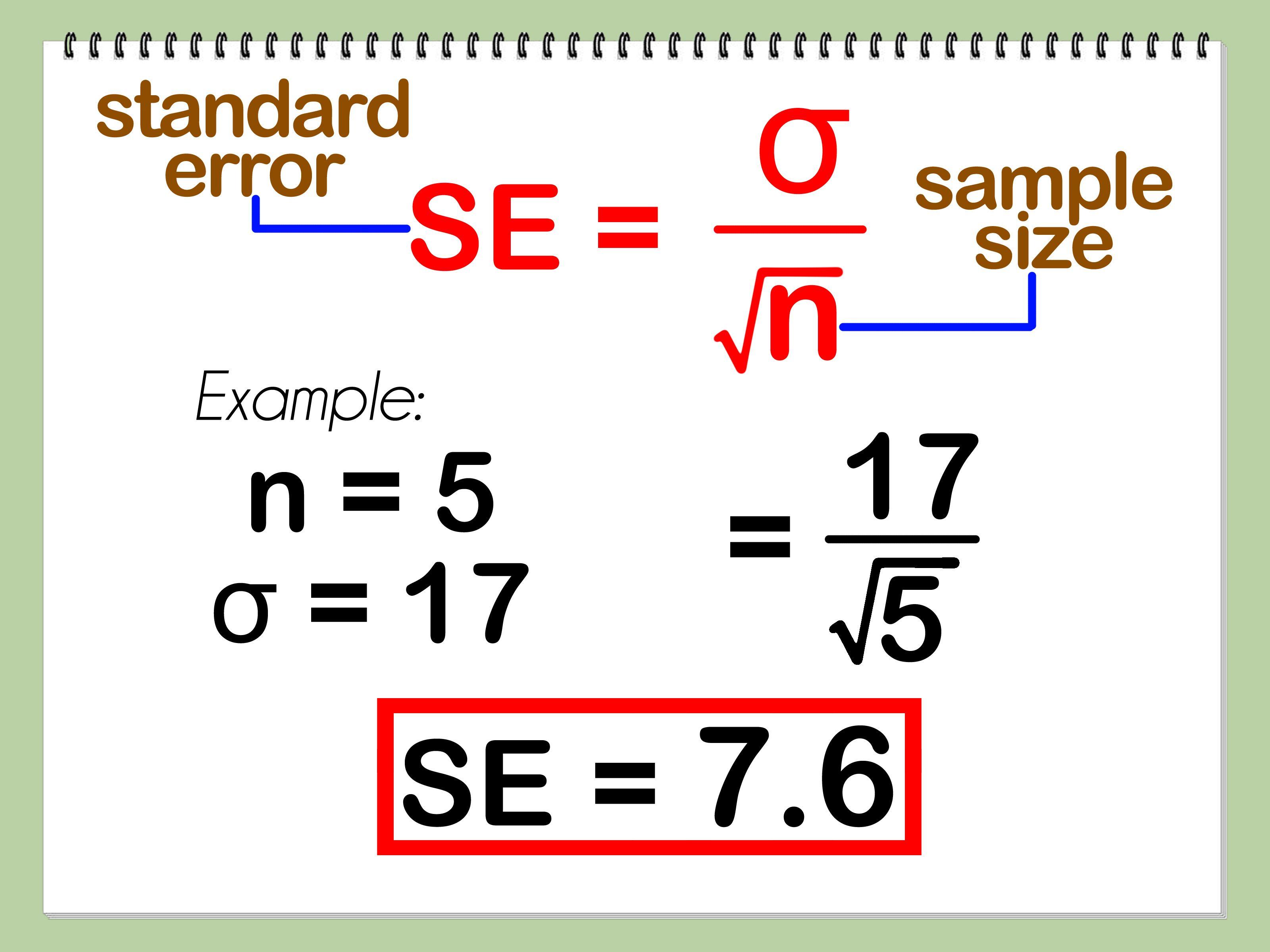 How Do I Calculate Standard Error In Excel Elegant Images