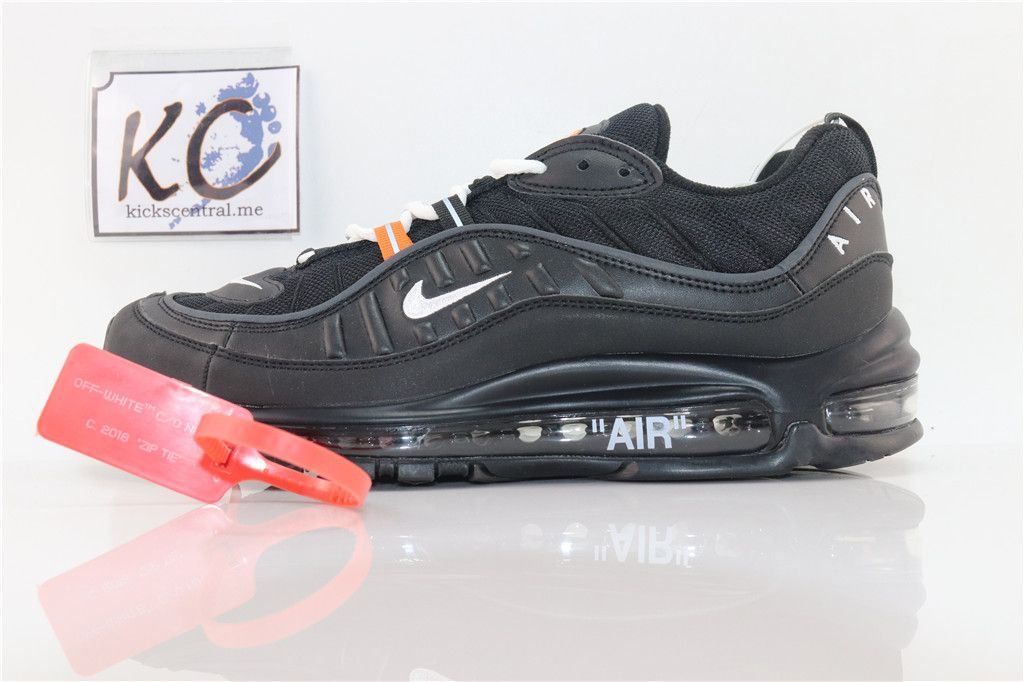 online store 7e318 96325 Off White x Nike Air Max 98