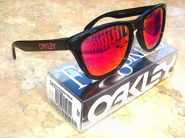 160e401b8 Oakley Frogskins +Red Rare in 2019 | oakley pinterest | Oakley ...