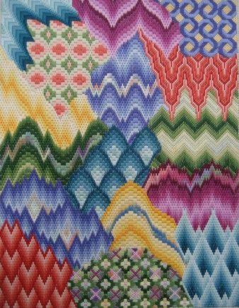Image Result For Bargello Embroidery Patterns Bargello Pinterest