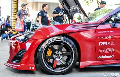Victory Function Fenders - 86SPEED - 86/FRS/BRZ Performance