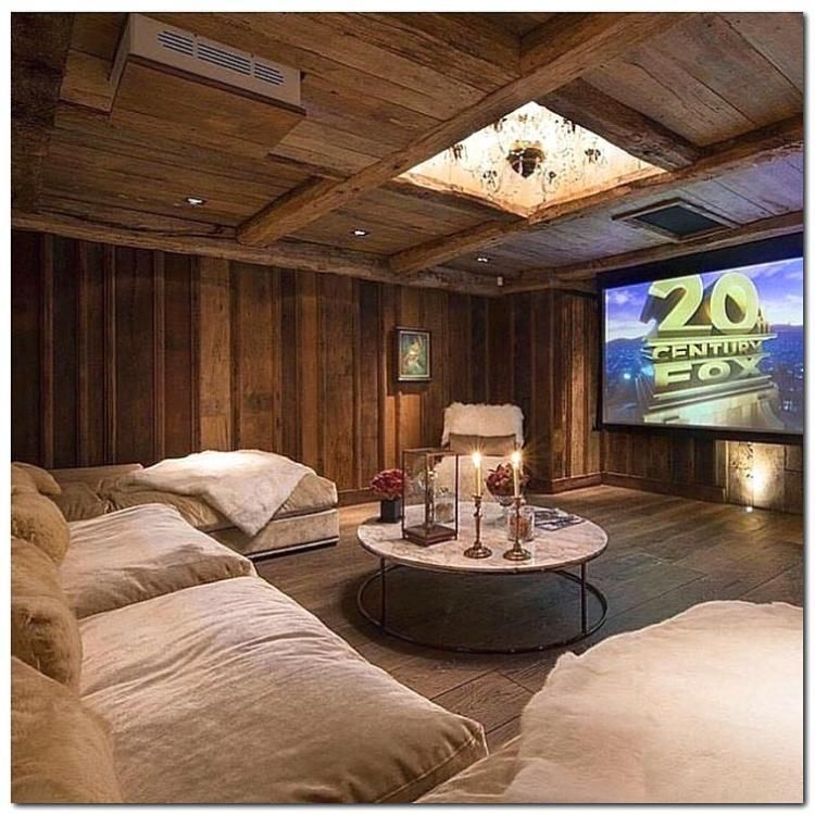 Home Theater Interiors Small Home Theater Room Design: Marvelous Tiny Movie Room Decor Ideas
