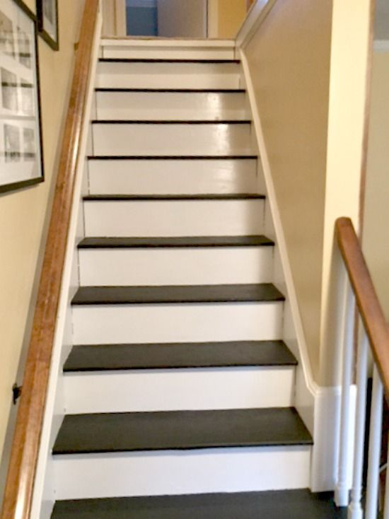 How To Remove Carpet From Stairs And Paint Them Paint Stairs Diy