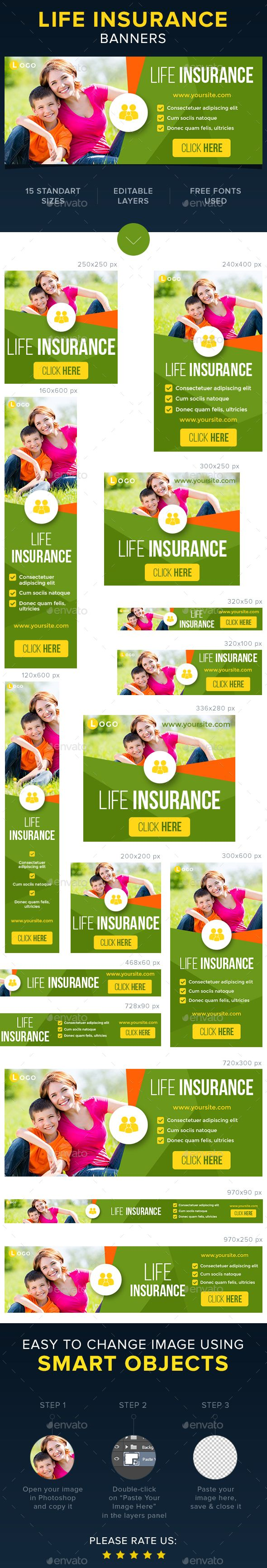 Life Health Insurance Banners Insurance Health Insurance