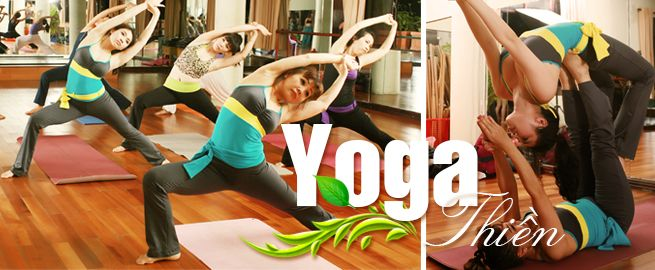 thể dục thẩm mỹ, học yoga, aerobic, dance