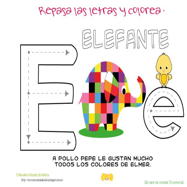 Actividades para niños, Pollo Pepe, Elmer, cuento Elmer, cuento ...
