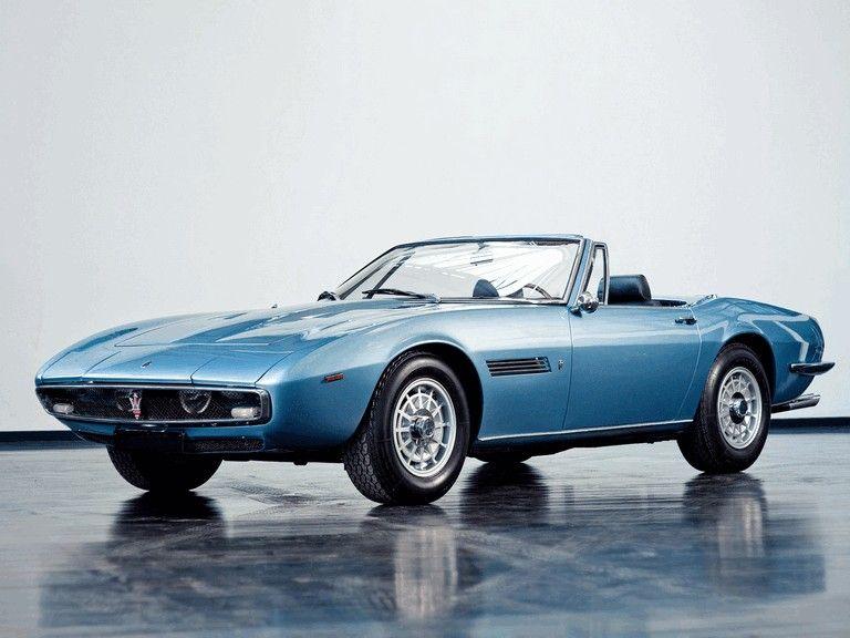 1967 Maserati Ghibli spyder 1 | Maserati ghibli, Maserati ...