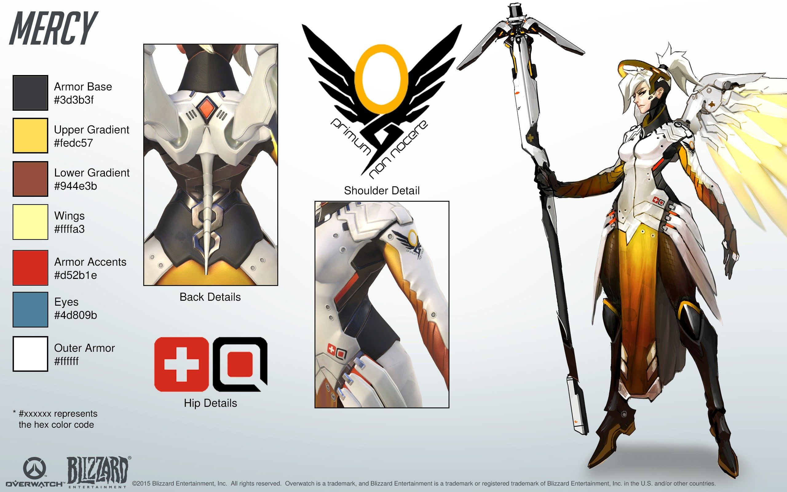 Game Character Design Complete Pdf : Mercy overwatch sheet pinterest