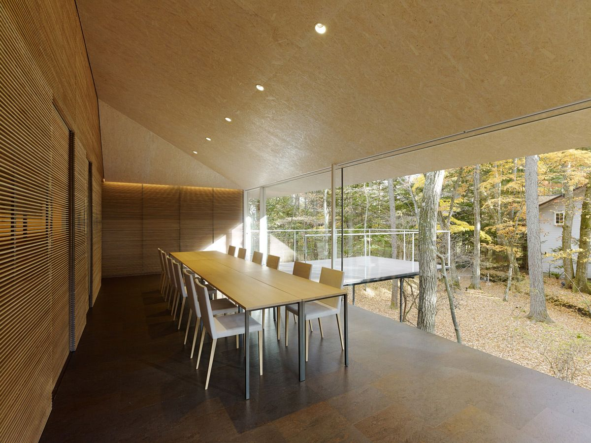 kengo kuma #house extend to forest designboom