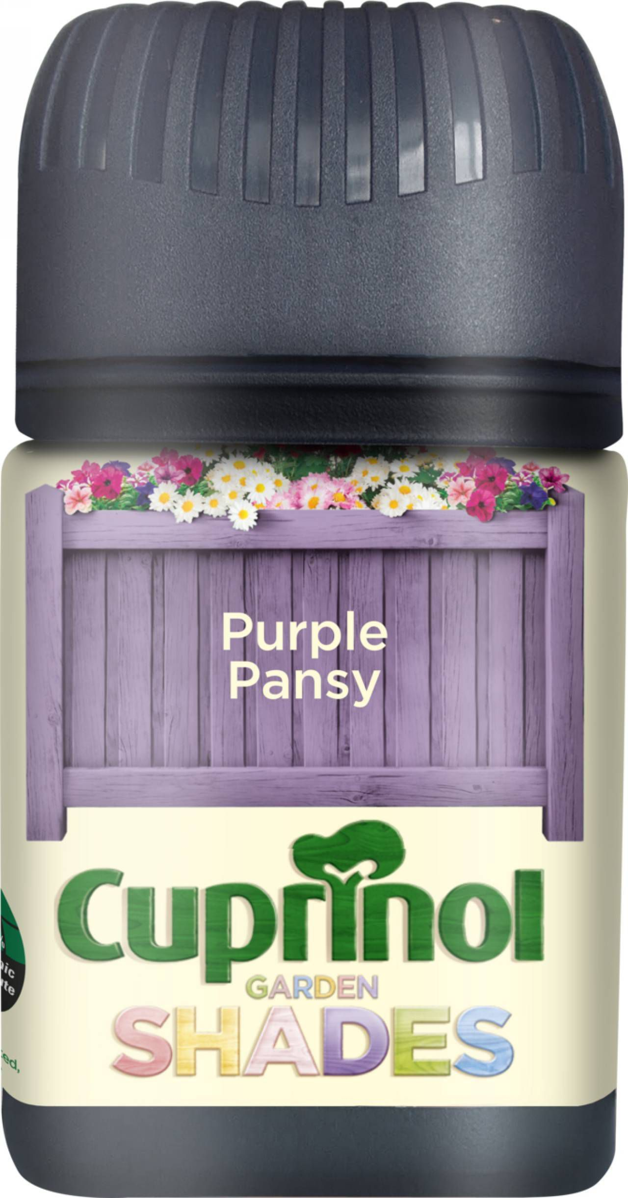 Cuprinol Garden Shades Purple Pansy Wood Paint 50ml Tester